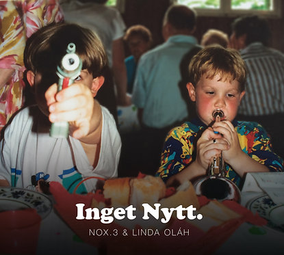 nOx.3 & Linda Olah - Inget Nytt. (CD)