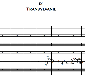 9. Transylvanie (Trombone 1)