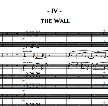 4. The Wall (Baritone Sax)
