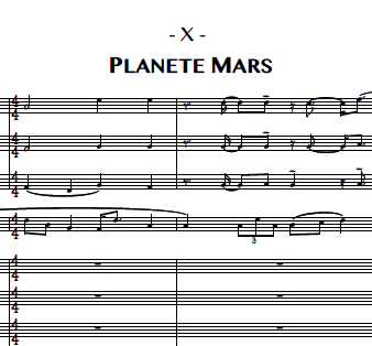 10. Planete Mars (Piano)