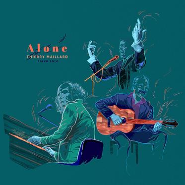 Thierry Maillard - Alone (CD)