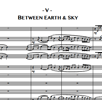 5. Between Earth & Sky (Tenor Sax, solo)
