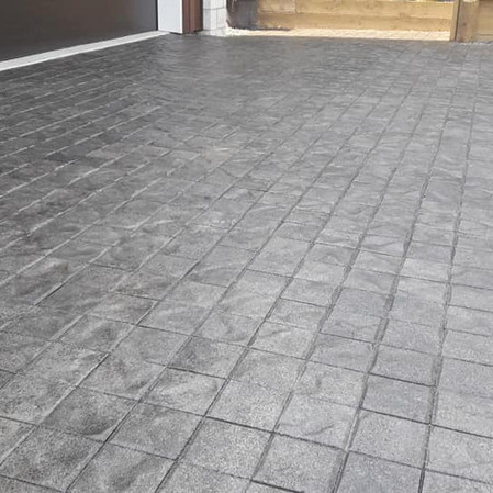 Clear Sealed cobbles