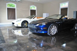 Metallic epoxy, cars