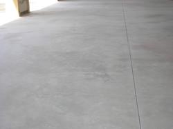 Trowelled concrete