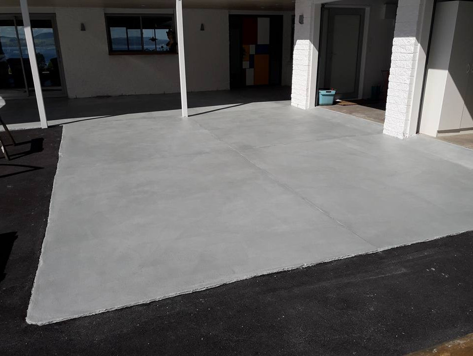Driveway after overlay