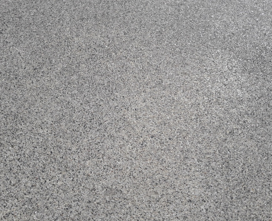 Acid etched concrete