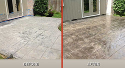 Before and after reseal imprint