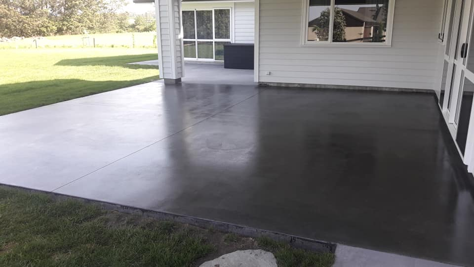 Ground Concrete