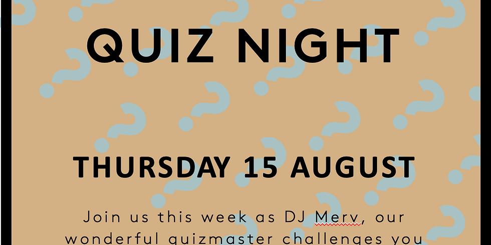 Thursday Quiz Night