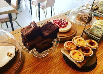 Cakes from Farrar's Cafe