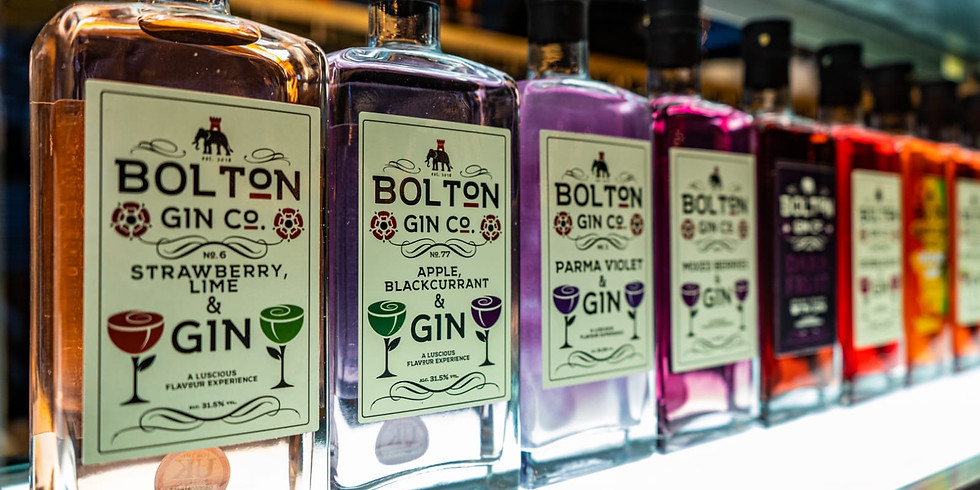 CANCELLED _ WITH A HEAVY HEART |   GIN-IUS GIN NIGHT  in Collaboration with Bolton Gin Company