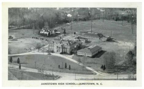 Jamestown High School Postcard