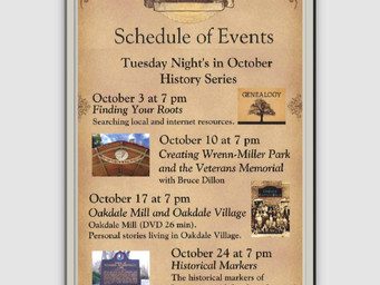 Tuesday Night's in October History Series