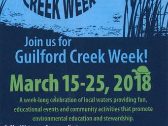 Guilford County Creek Week
