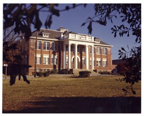 School Building with Annex