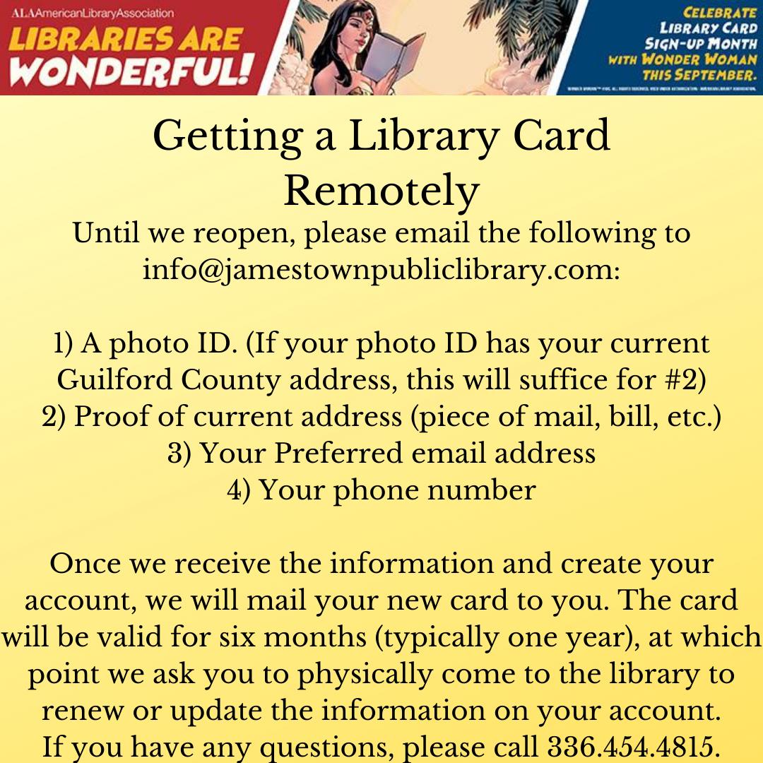 temp card procedure