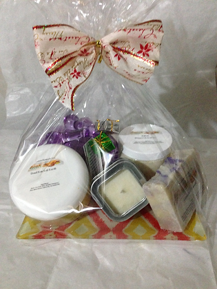 Skin & Aromatherapy Gift Basket