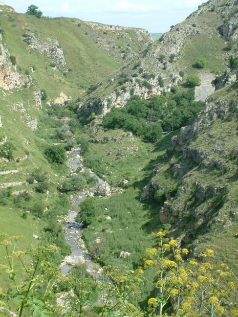 Gravina river, Matera