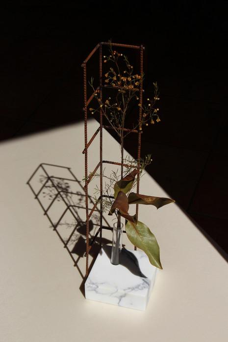 Perpetua, vase #1 / h60 l15 w15 cm