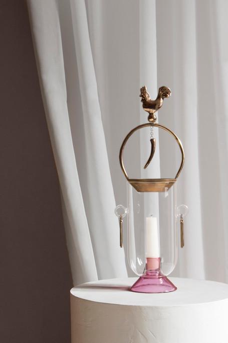Affascino, candle holder/burner / h38 l13 w11
