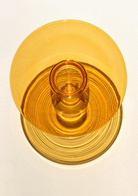 Ufo, Hand-blown glass / Ø400 x 120 mm