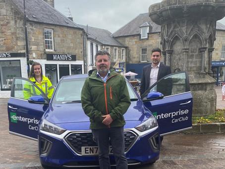 Car Share Scheme Launch In Kinross-Shire