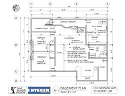 101 MISSION AVE - BASEMENT FLOOR PLAN