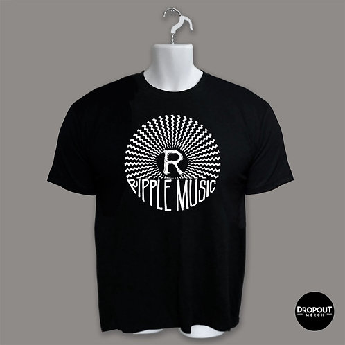 "Ripple Music ""Logo"" - White Print"