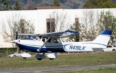 Cessna 172 In Flight