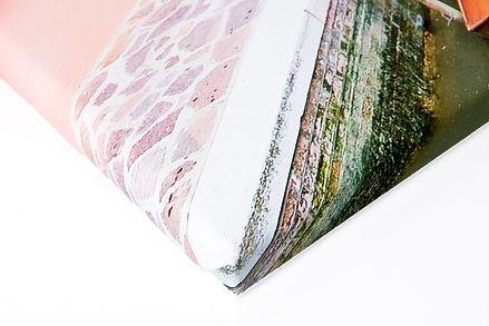 Toile pêle-mêle sur châssis de 2 cm