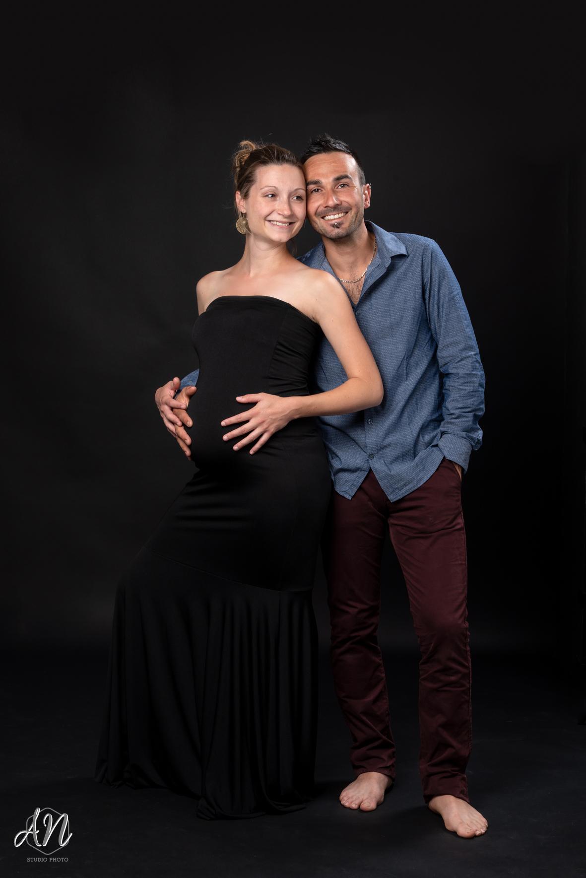 Séance photo couple - femme enceinte