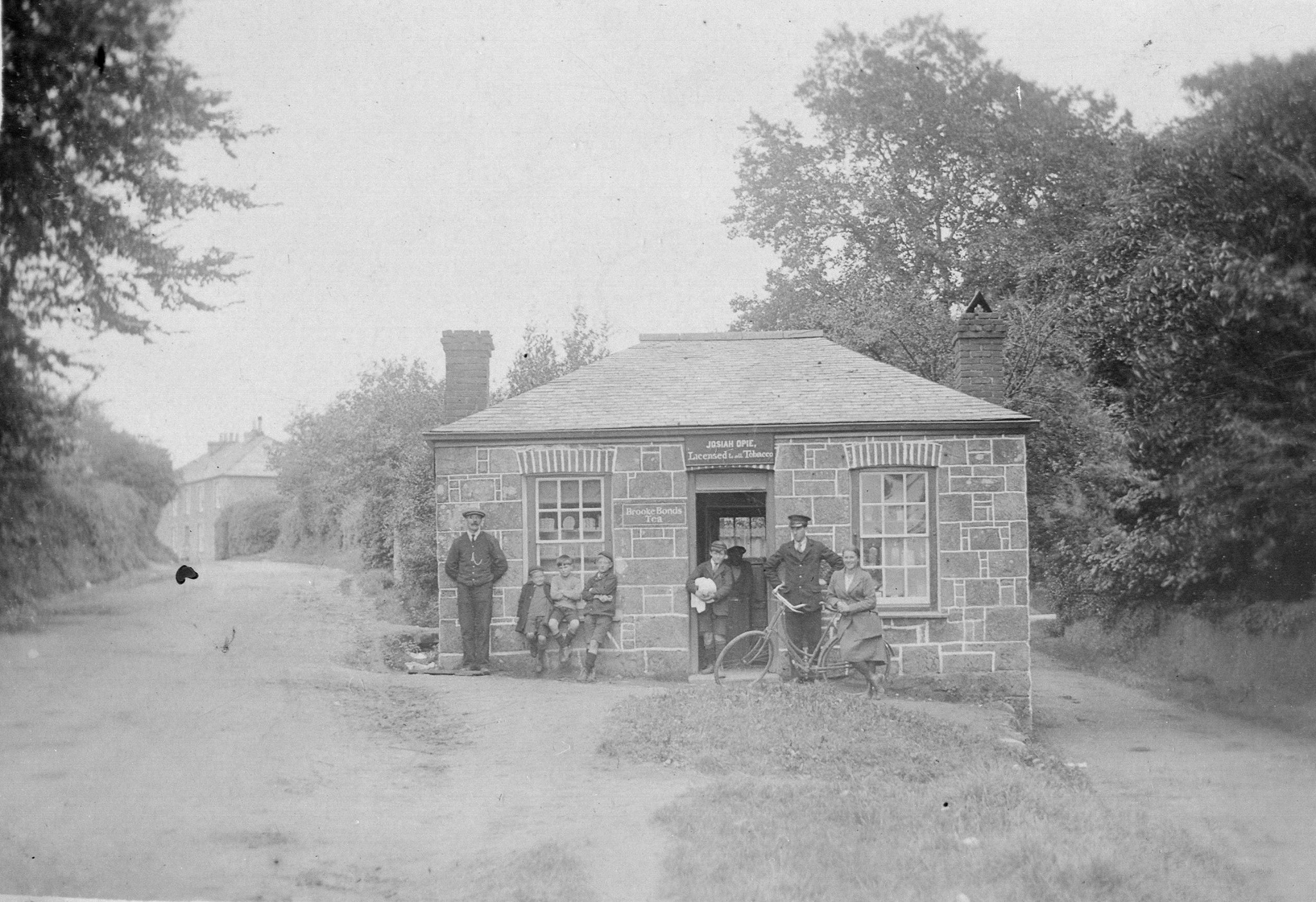 Toll house as a shop c1920