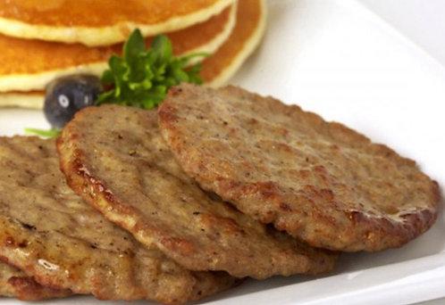 美國豬柳漢堡扒/6片