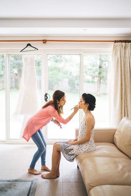 Asian Bridal Makeup Artist Sydney - Charmaine and Kenneth