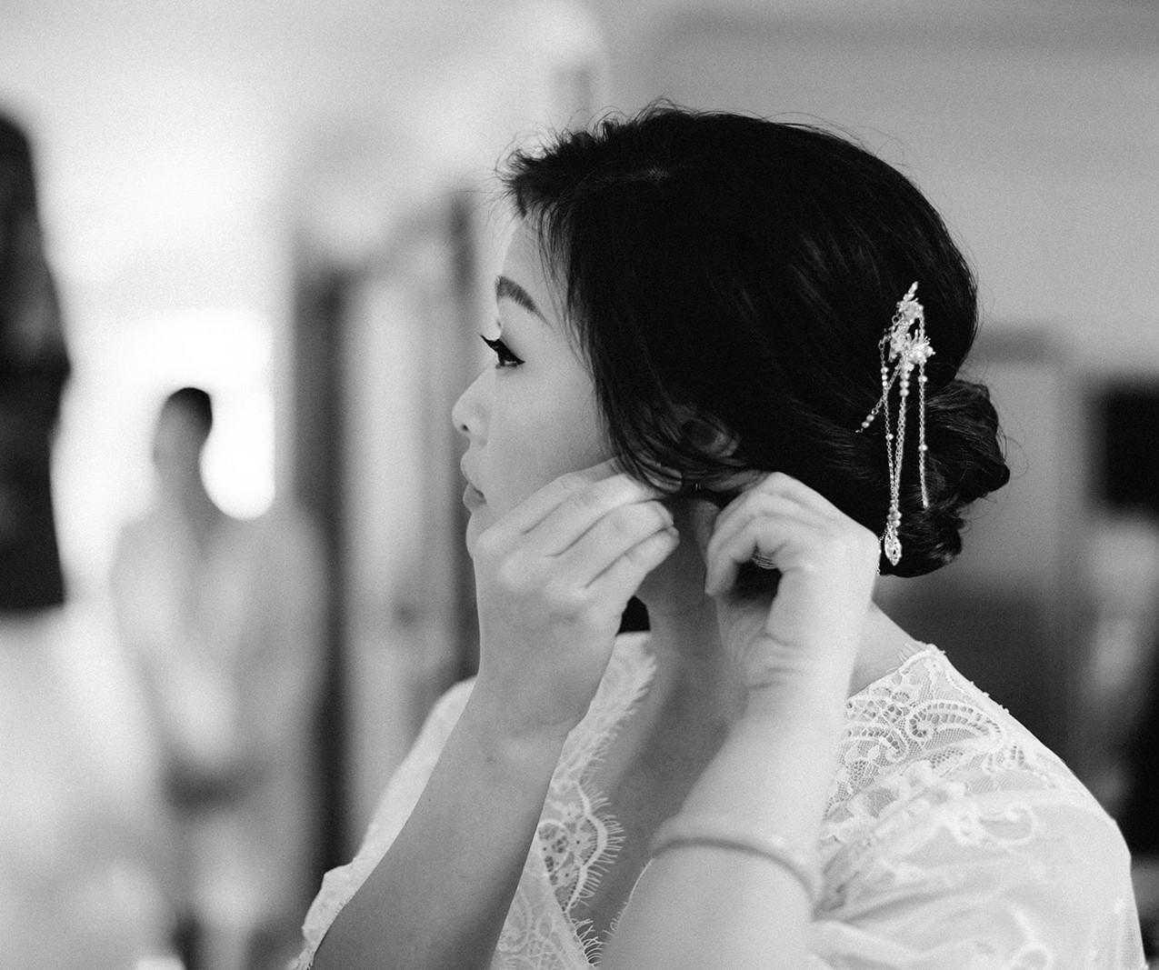 Best Asian Bridal Makeup Sydney  Photography: Zoe Morley Photography