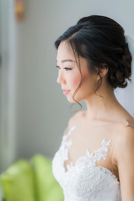 Korean Wedding Makeup Artist Sydney - Dana and Matt