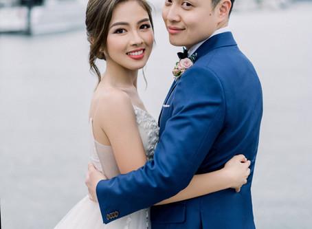 Asian Wedding Makeup Artist Sydney - Deniece and Steven's Wedding