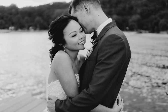 Sydney Asian Makeup Artist - Judy and Chris's Wedding