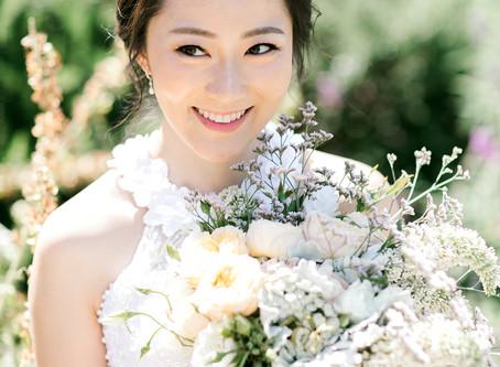 Asian Wedding Makeup - Anna and Ben