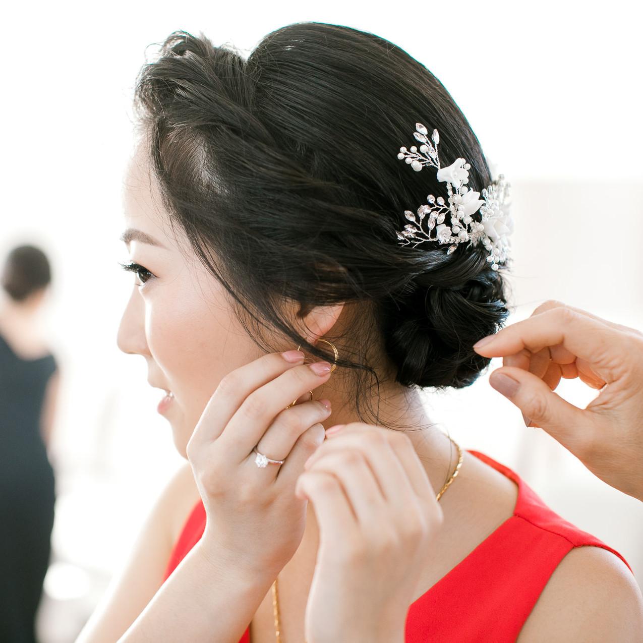 Asian Bridal Makeup Sydney  Photography: Clarzzique
