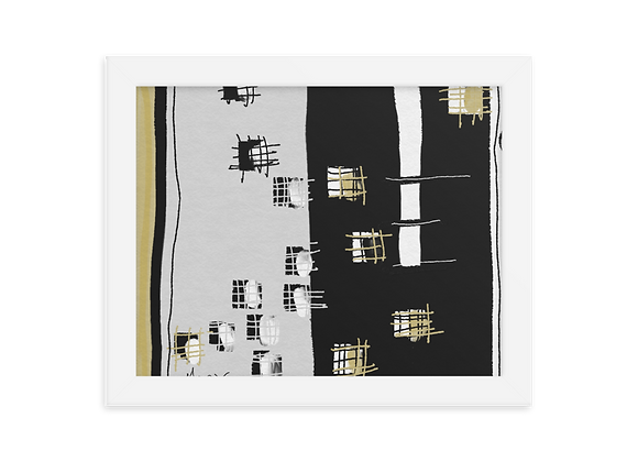 """""""Velvet"""" 00.1 Framed Poster"""