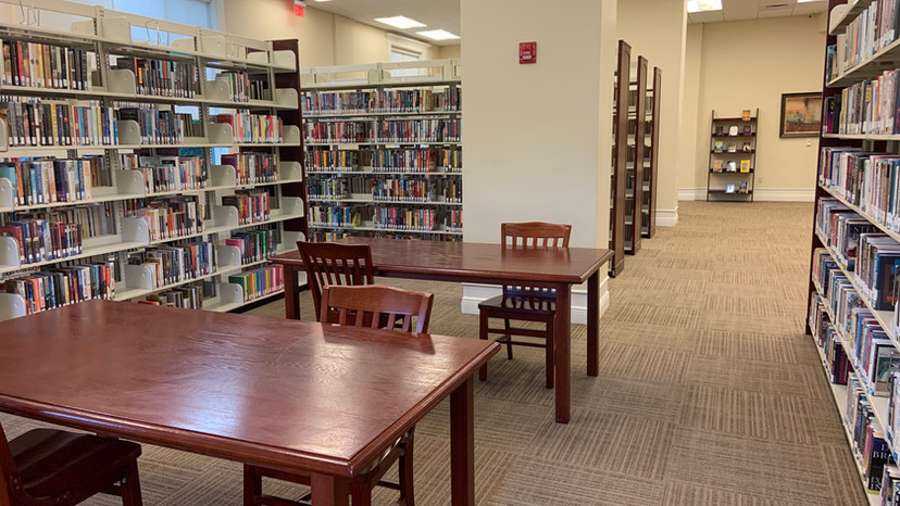 Adult Fiction Section