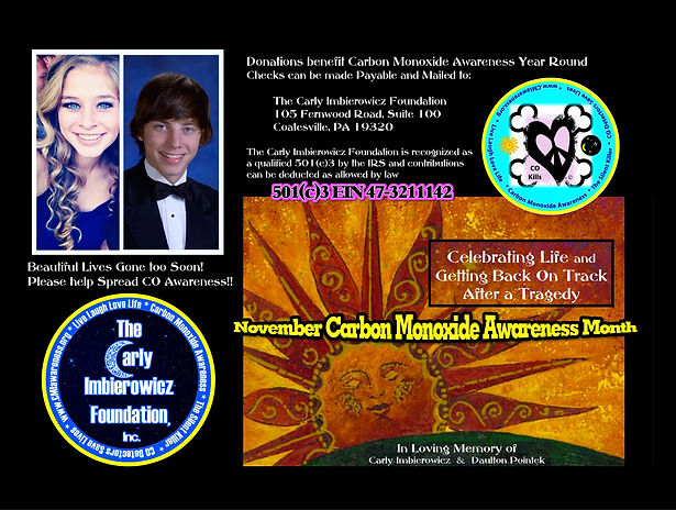 November Carbon Monoxde Awareness Month