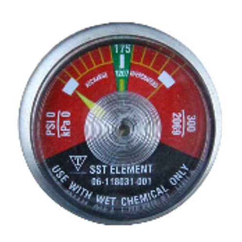 Replacement Pressure Gauge for WHDR Cylinder Valve