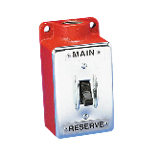 Main/Reserve Electric Transfer Switch