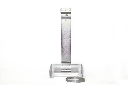 Wall Bracket for: 70 lb. Clean Agent Cylinder & 45/50 lb Dry Chemical Cylinder