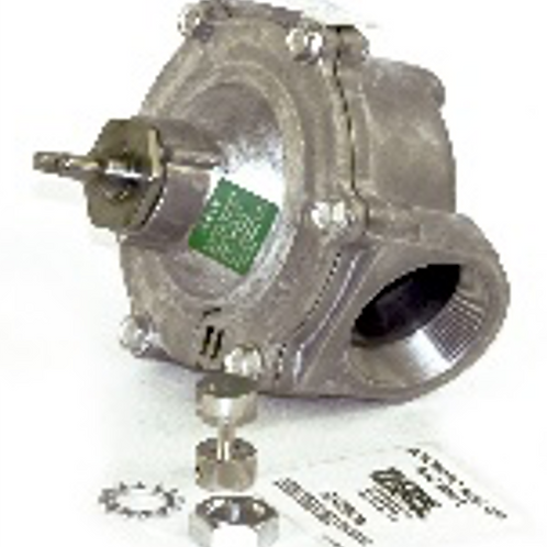 2� NPT Mechanical Cable-Operated Gas Shutoff Valve