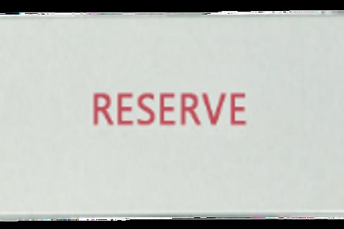 "Nameplate, ""Reserve"""