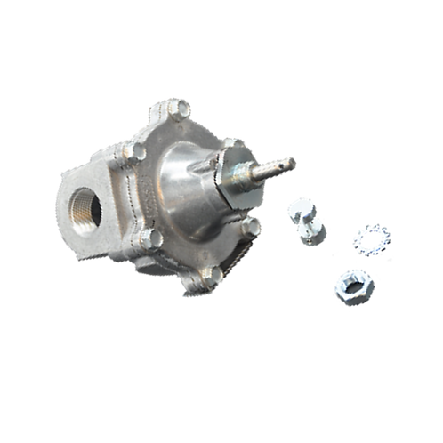 1� NPT Mechanical Cable-Operated Gas Shutoff Valve